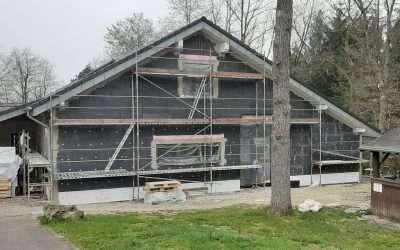 Update Jugendheimumbau Mai 2021